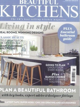 Beautiful Kitchens magazine cover