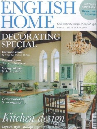 English Home magazine cover