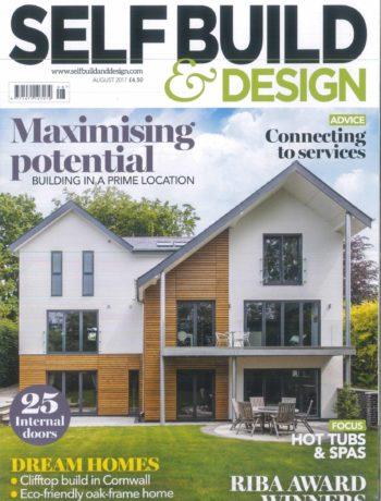 Self Build and Design August 2017 magazine cover
