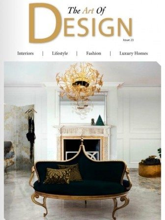 The Art of Design issue 23 magazine cover