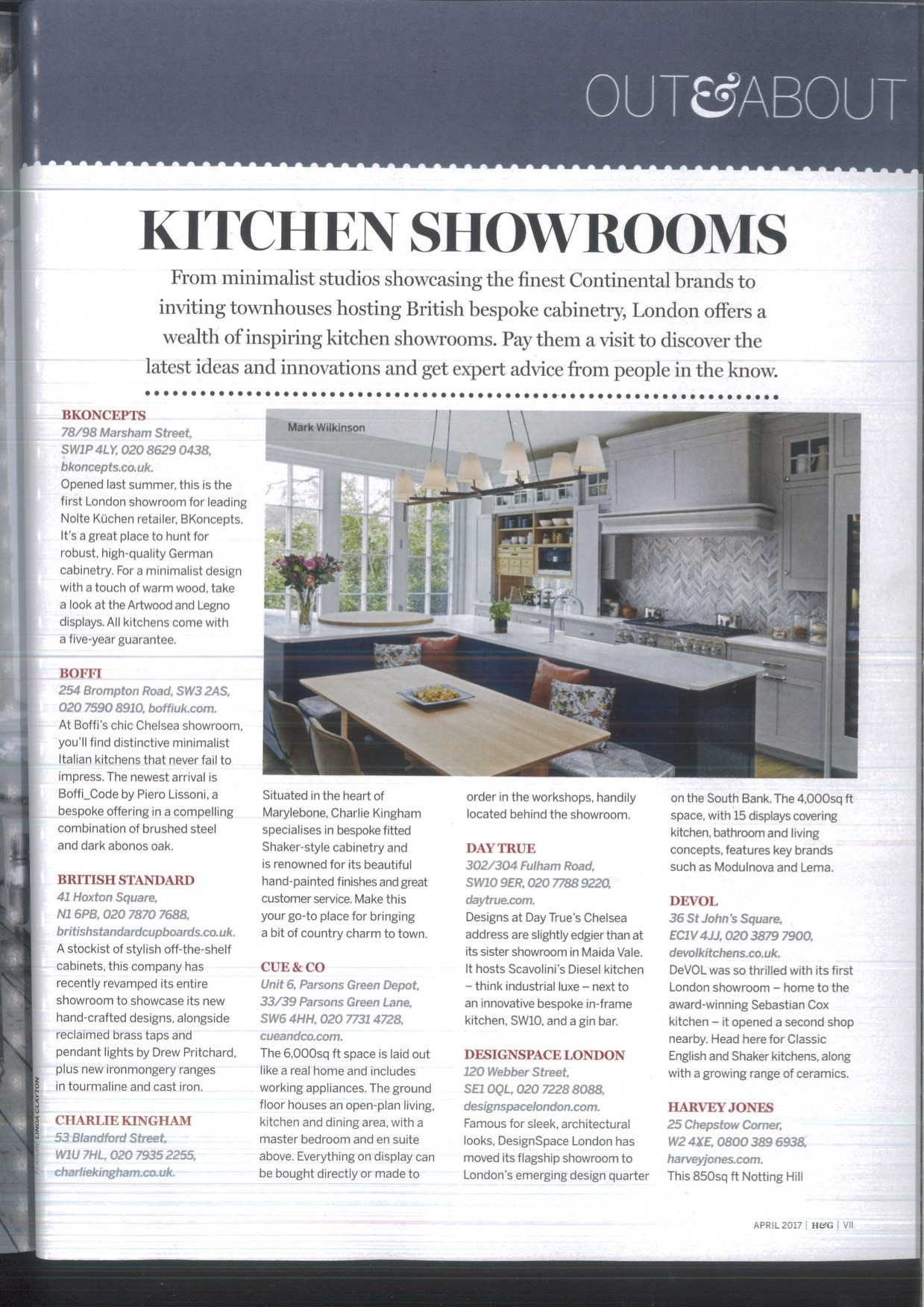 ... Homes And Gardens April 2018 Magazine Cover