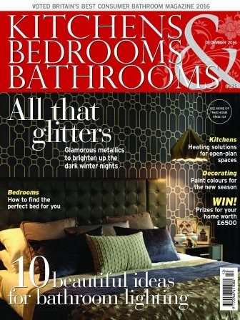 Kitchens Bedrooms and Bathrooms magazine cover