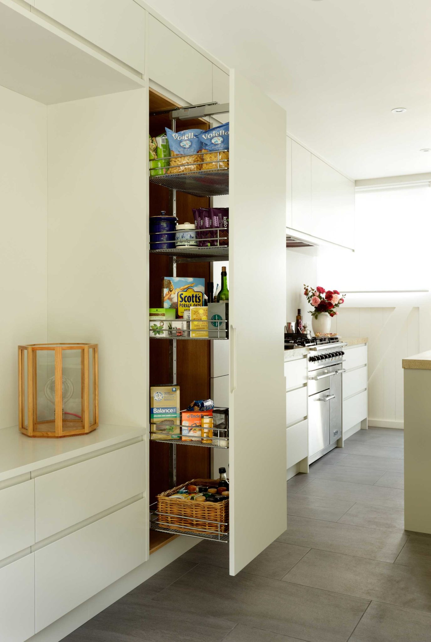 pullout storage kitchen solutions