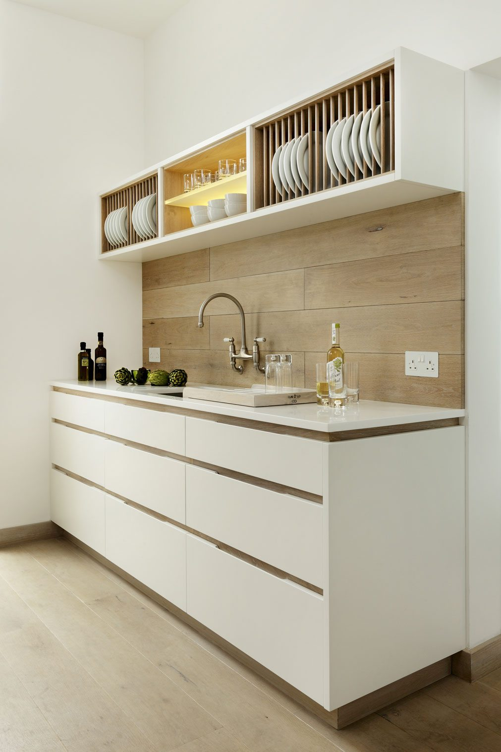 clever space saving kitchen design