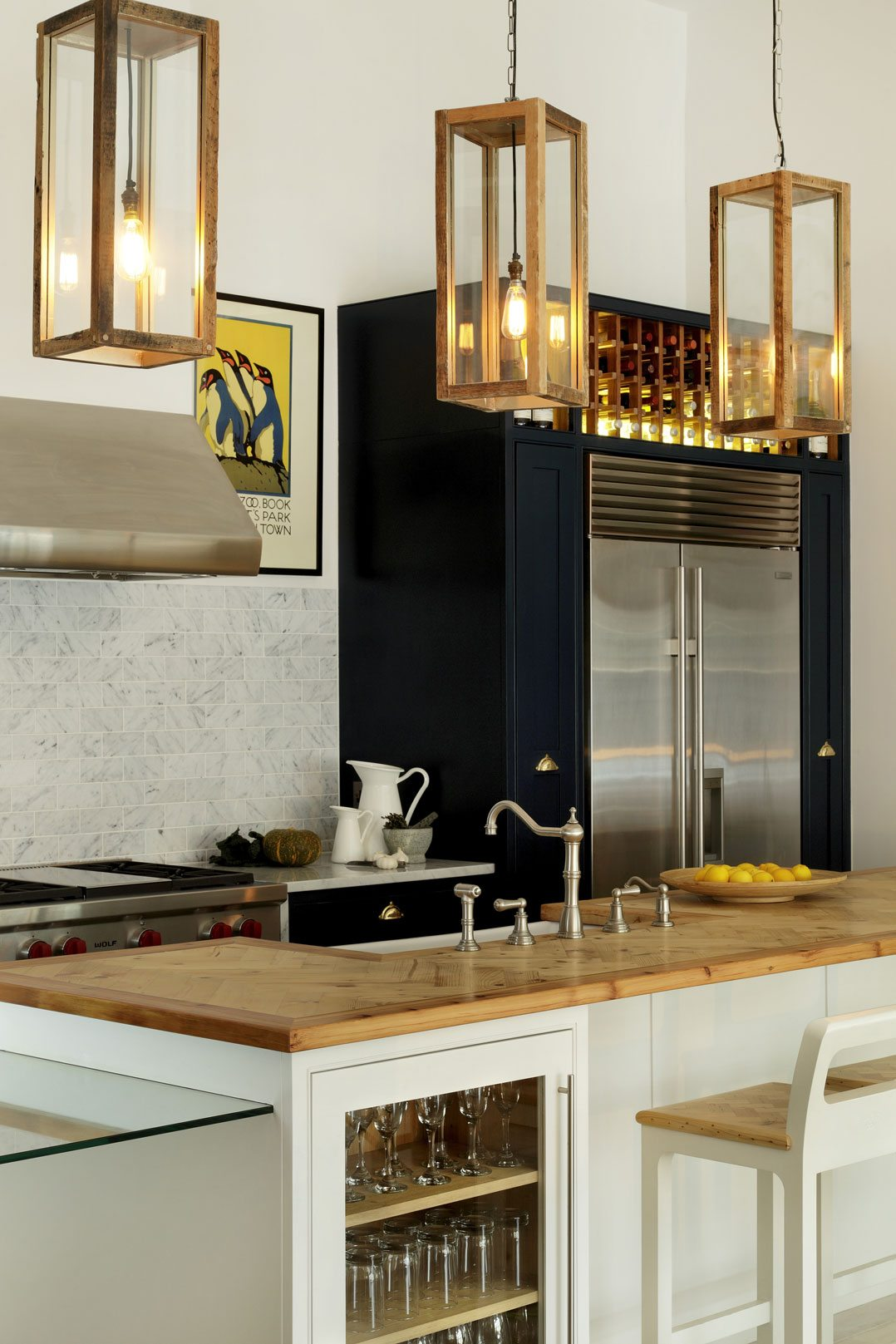 modern lighting for kitchen