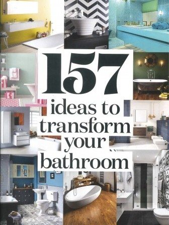 157 ideas to transform your bathroom cover