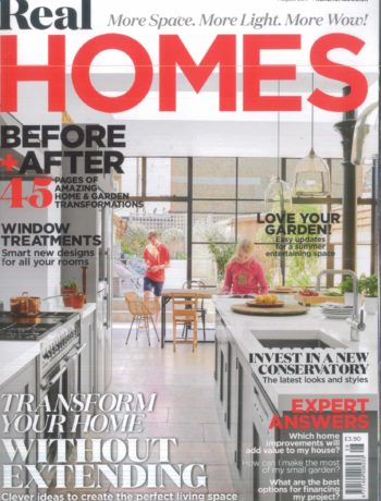 Real Homes August 2017 magazine cover