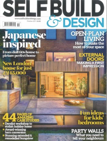 Self Build and Design October 2017 magazine cover