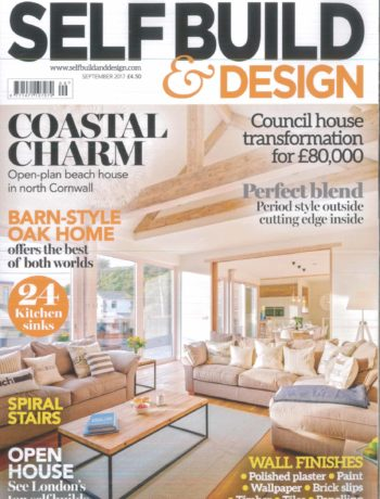 Self Build and Design September 2017 magazine cover