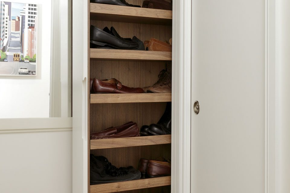 pullout shoe storage