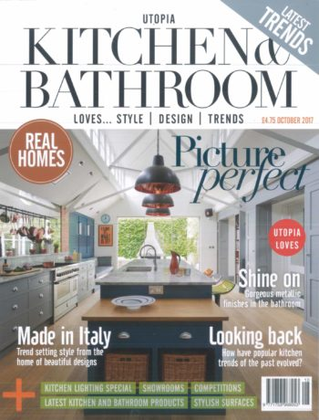 Utopia Kitchen and Bathroom October 2017 magazine cover
