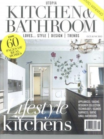 Kitchen and Bathroom magazine cover