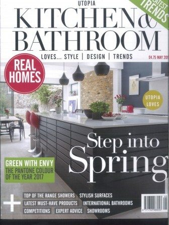 Utopia Kitchen and Bathroom magazine cover