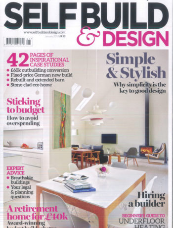 Self Build and Design January magazine cover
